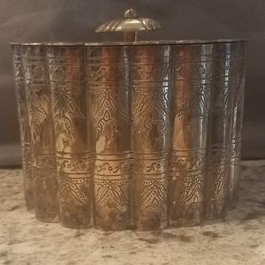 Brass decorative container